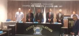 Câmara de Miguel Alves abre Ano Legislativo em sessão que contou com a presença do atual prefeito